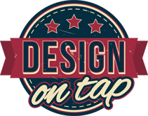 Design on Tap logo